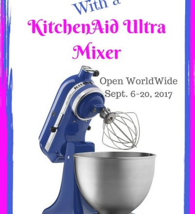 KitchenAid Ultra Stand Mixer Giveaway!