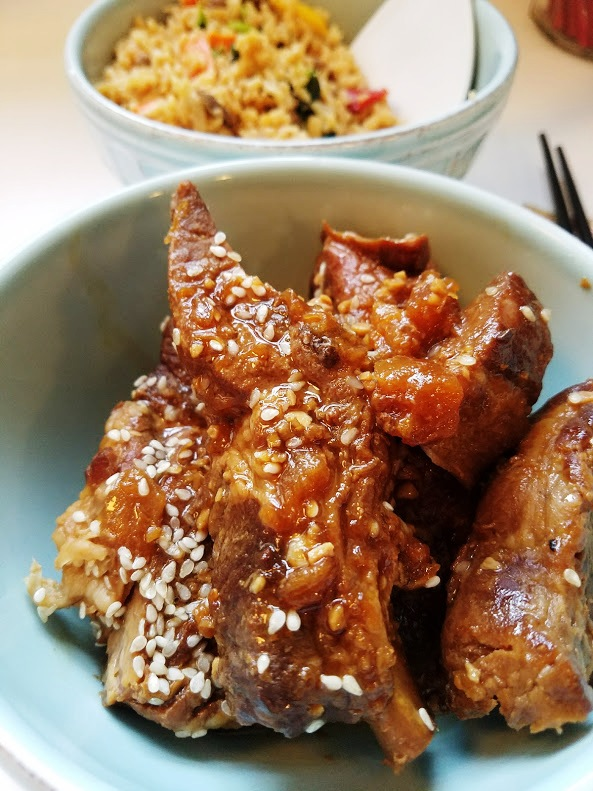Baked Asian Pineapple Ribs