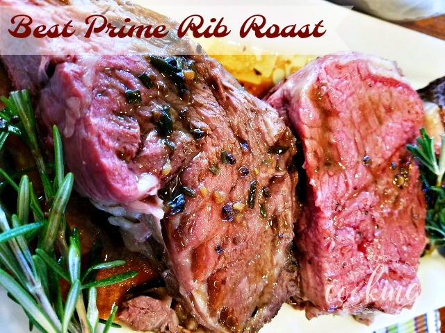Best Prime Rib Roast Au Jus and Giveaway