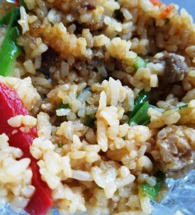 Ling Ling Yakiniku Beef Fried Rice and Giveaway