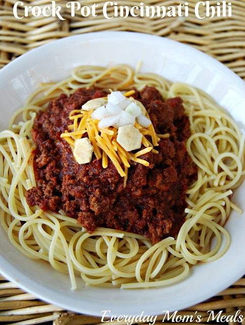 Crock Pot Cincinnati Chili Moore Or Less Cooking