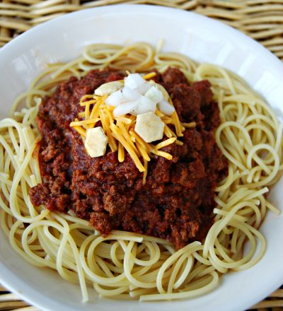 Crock Pot Cincinnati Chili