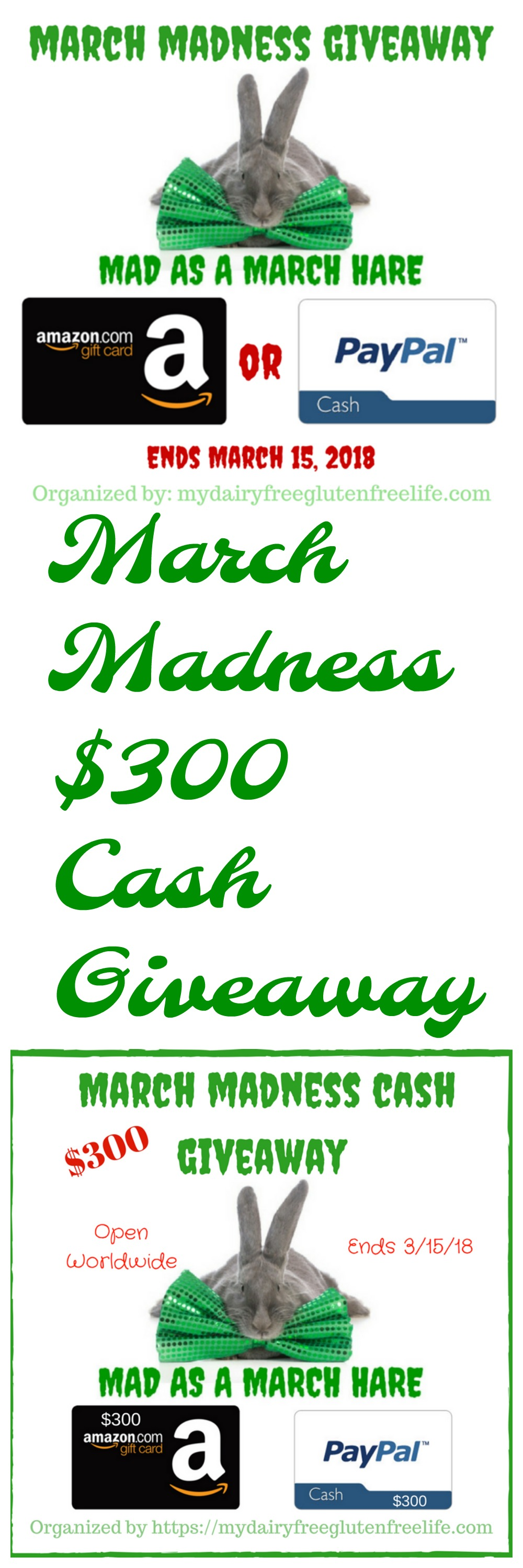 March Madness Cash Giveaway 2018