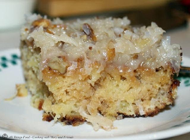 Southern Pineapple Cake
