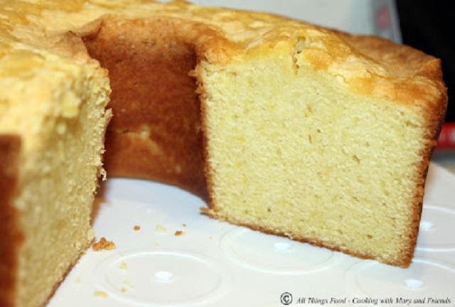 Golden Pound Cake Evaporated Milk
