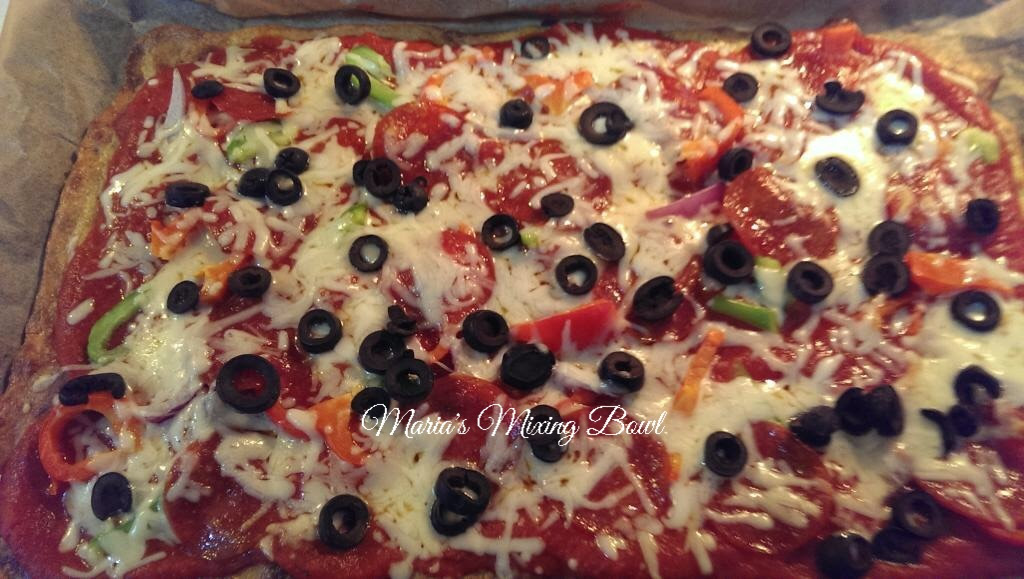 Ultimate Fat Head Pizza~Low Carb