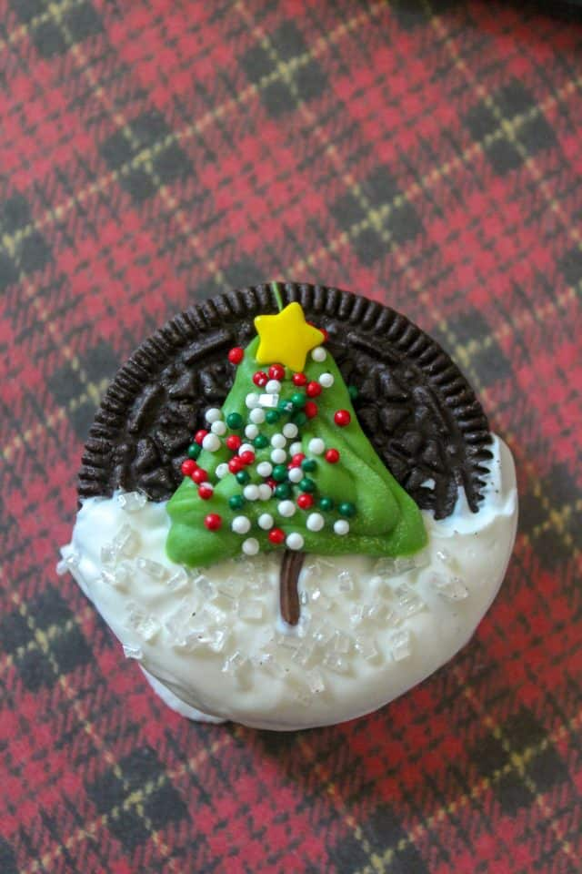 Christmas Tree Oreo Cookies Moore Or Less Cooking