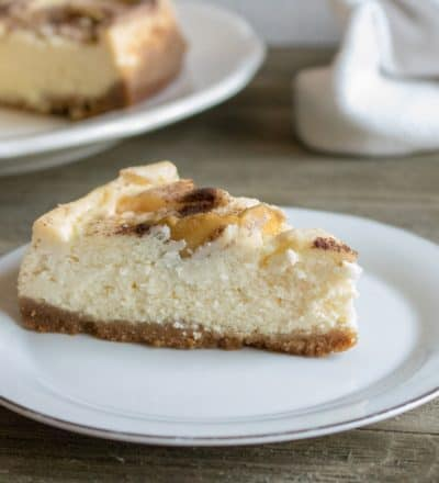 Instant Pot Apple Cheesecake