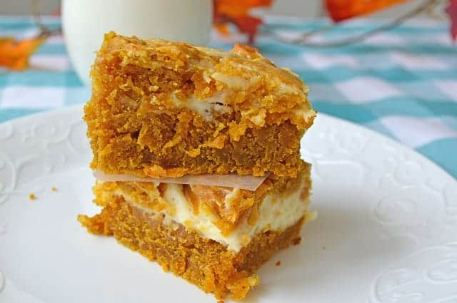 Pumpkin Cheesecake Bars Moore Or Less Cooking