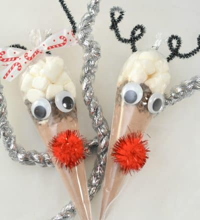 Reindeer Cocoa Treat Bags