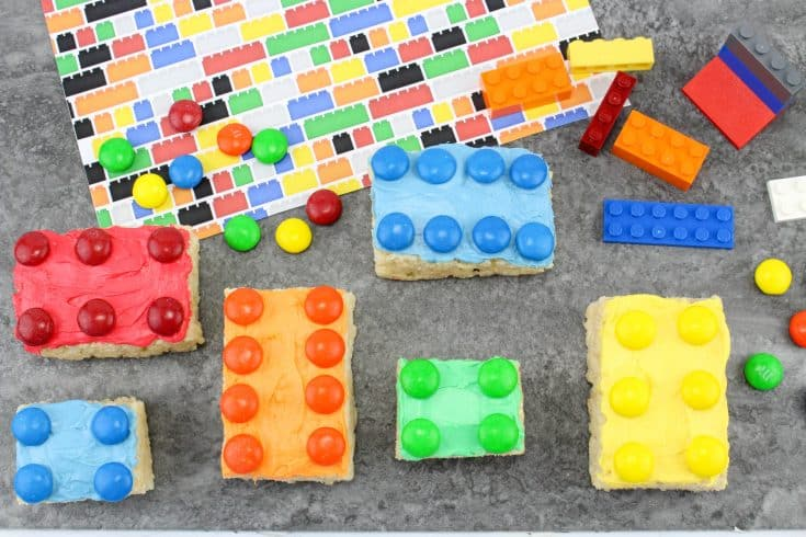 Lego Rice Krispy Treats