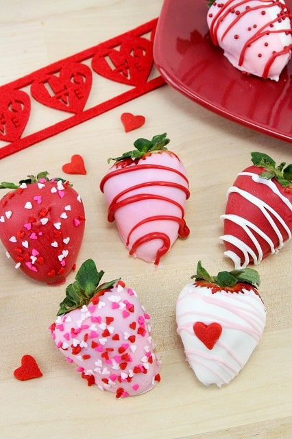 Valentine Strawberries