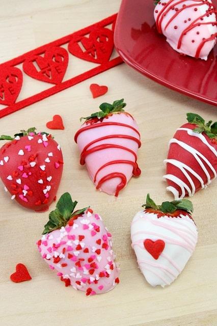 Valentine Strawberries