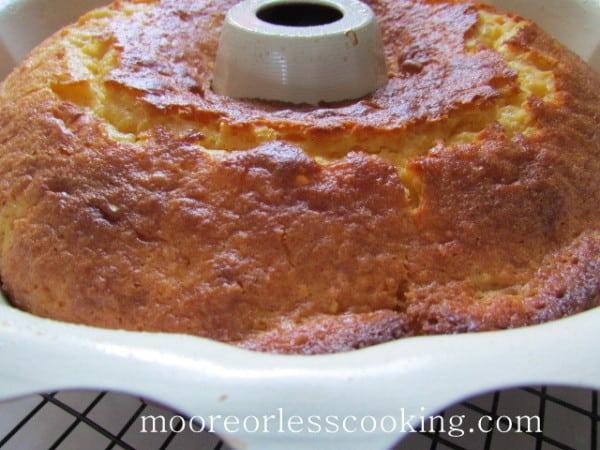 Pineapple Bundt Poke Cake