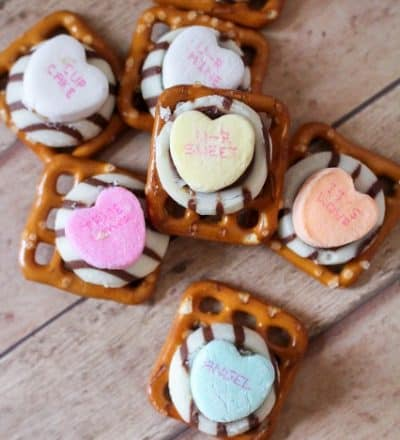 Valentine's Day Pretzels & Video
