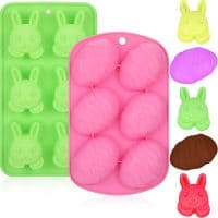 Easter Egg Silicone Chocolate Candy Molds