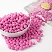 Pink Sixlets Candy