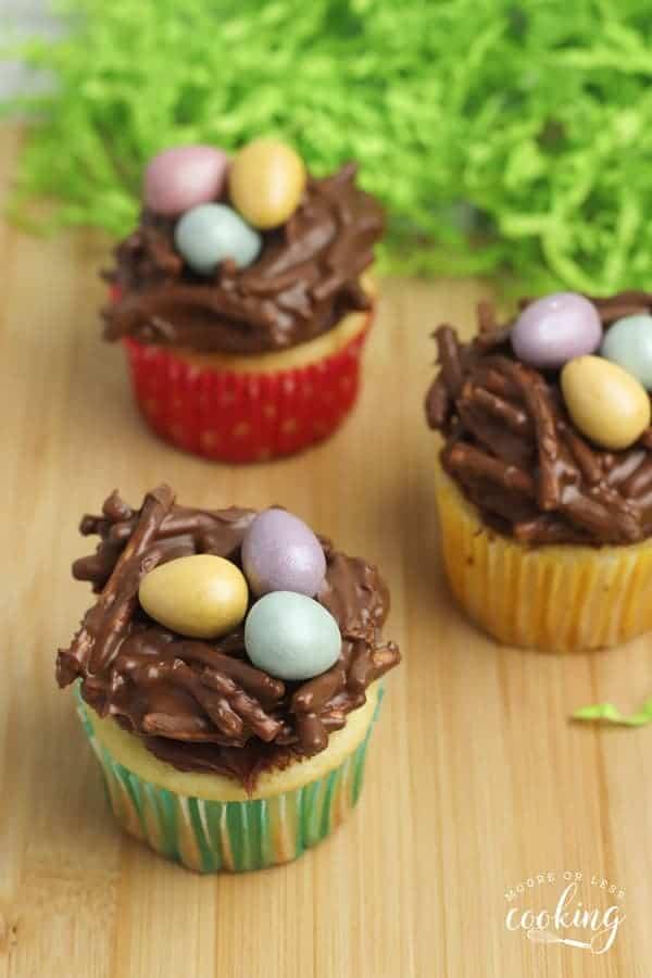 Nutella Nest Cupcakes