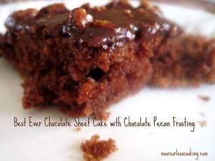 Best Chocolate Sheet Cake