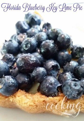 Florida Blueberry Key Lime Pie