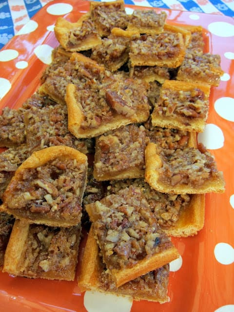 Easy Crescent Roll Pecan Pie Bars