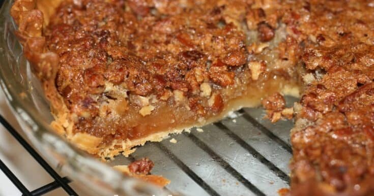 Classic Old Fashioned Southern Pecan Pie