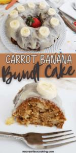 Carrot Banana Bundt Cake Pin