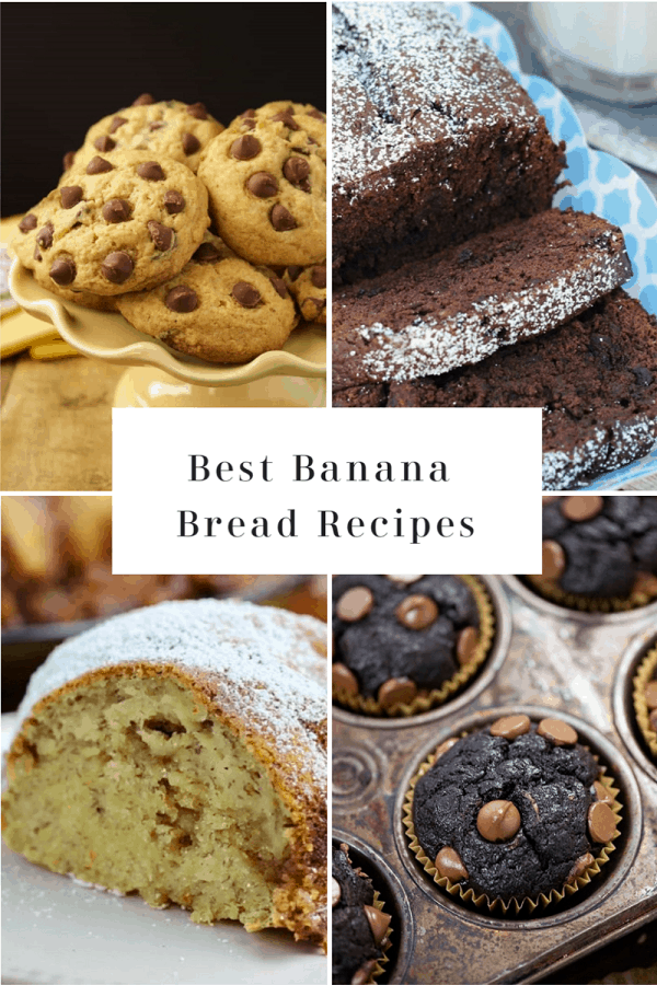 Tired of Basic Banana Bread? Step Up the Classic With These 41 Recipe Variations #mooreorlesscooking #bananabread #bread #banana #chocolate #cookies #cake via @Mooreorlesscook