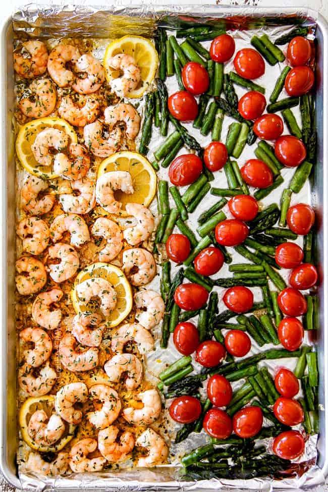 Shrimp Scampi (easy sheet pan!)