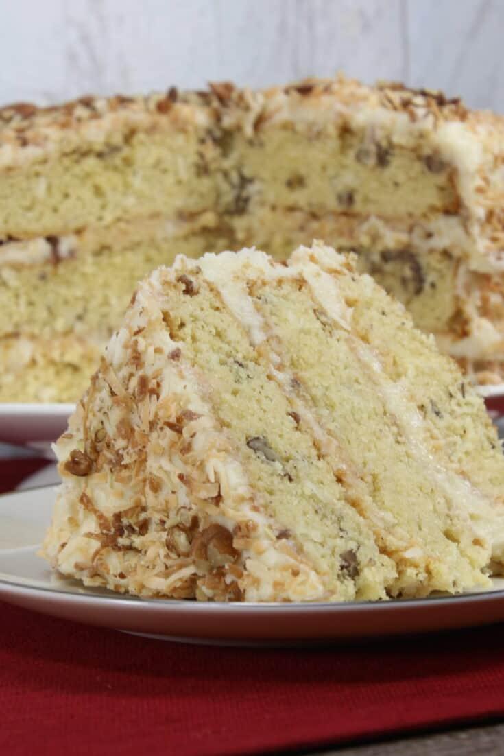 Best Italian Cream Cake