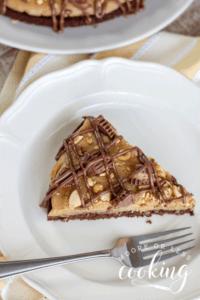 Peanut Butter Brownie Pizza