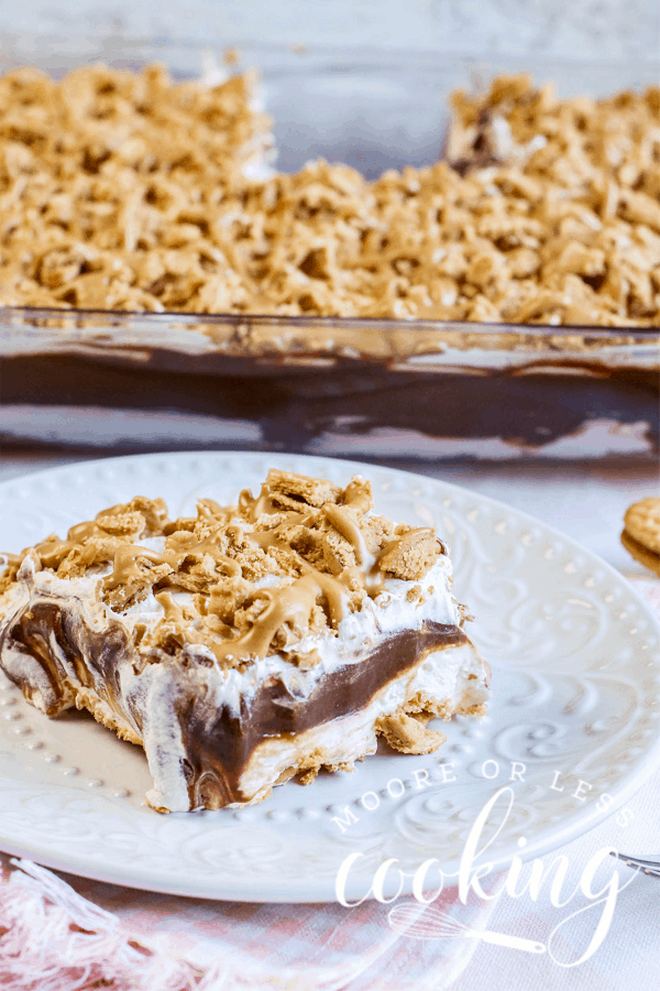 Peanut Butter Chocolate Lasagna