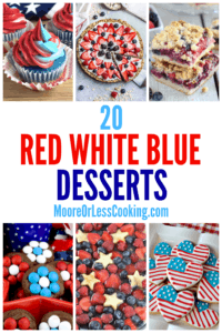 20 red white blue desserts