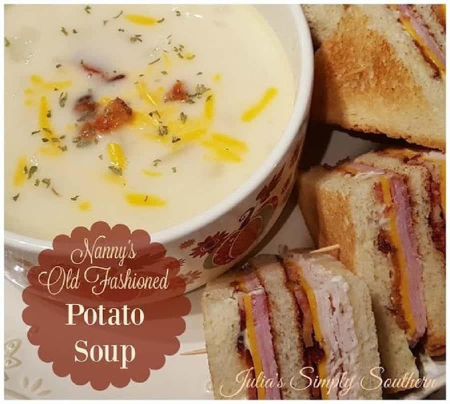 Nanny's Old Fashioned Potato Soup