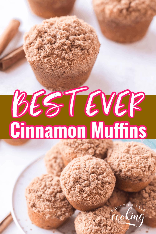 Best Ever Cinnamon Muffins