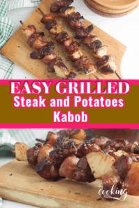 Steak and Potatoes Kabob