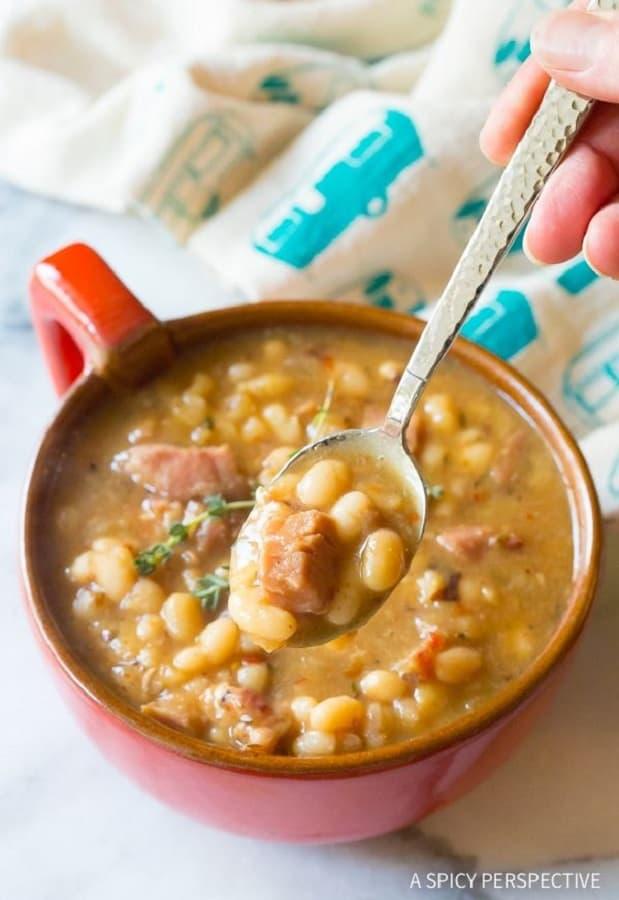 Nana's Epic Navy Bean Soup