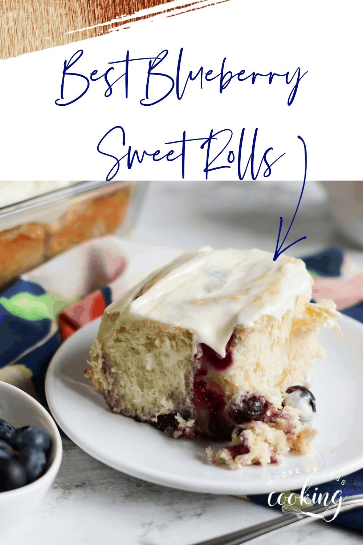 Best Blueberry Sweet Rolls