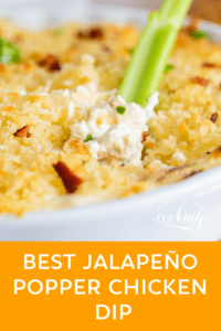 Best Jalapeno Popper Chicken Dip