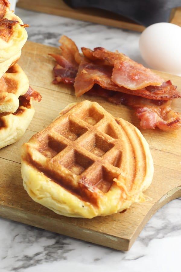 Biscuit waffles