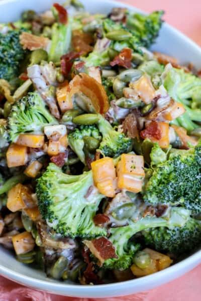 Broccoli Bacon Salad