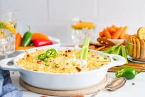 Jalapeno Popper Chicken Dip