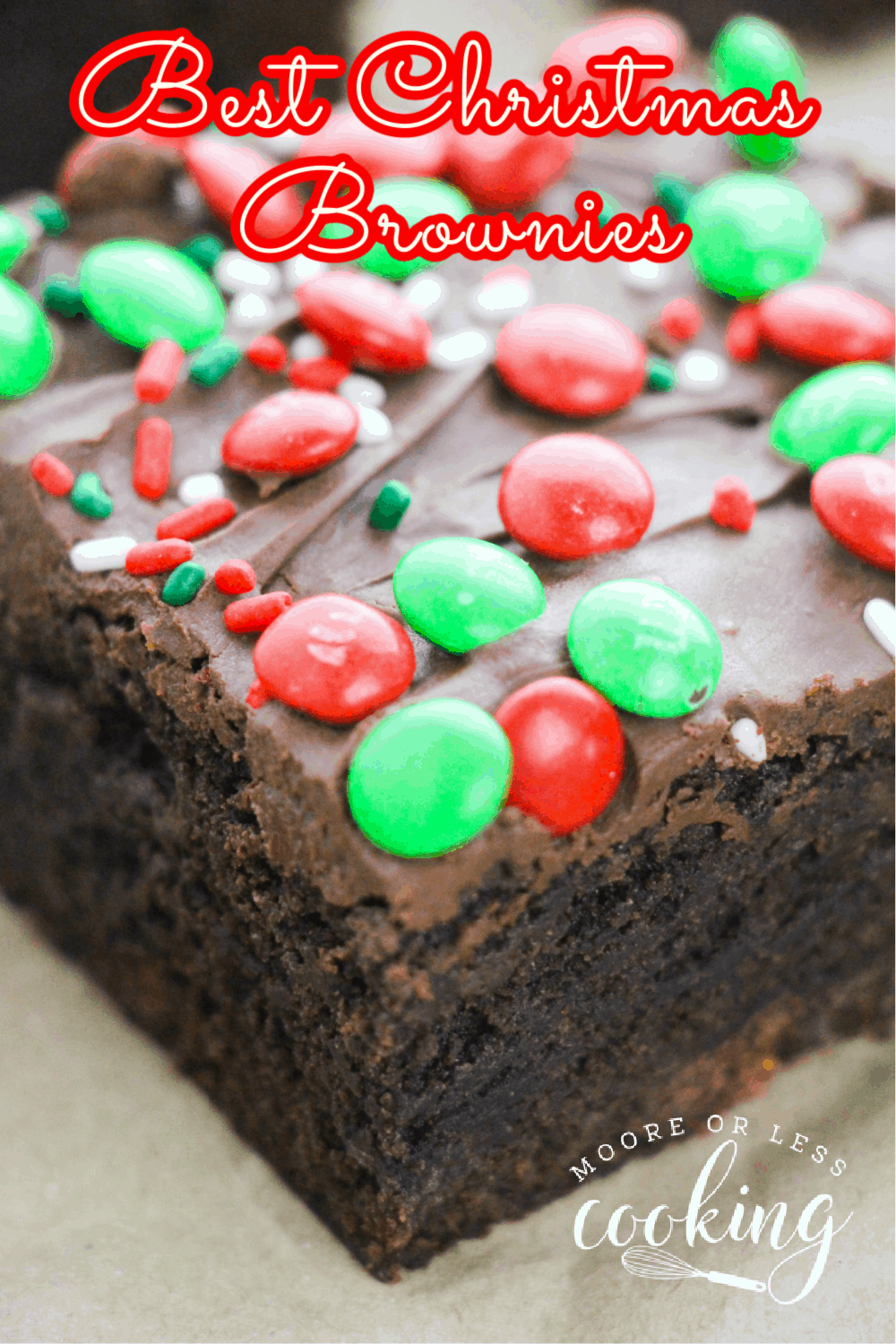 Best Christmas Brownies