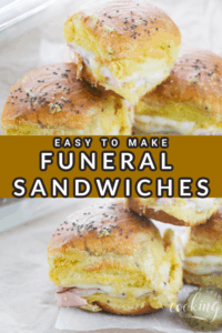 Easy Funeral Sandwiches