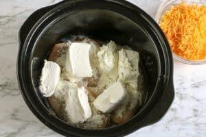 Slow Cooker Ranch Crack Chicken