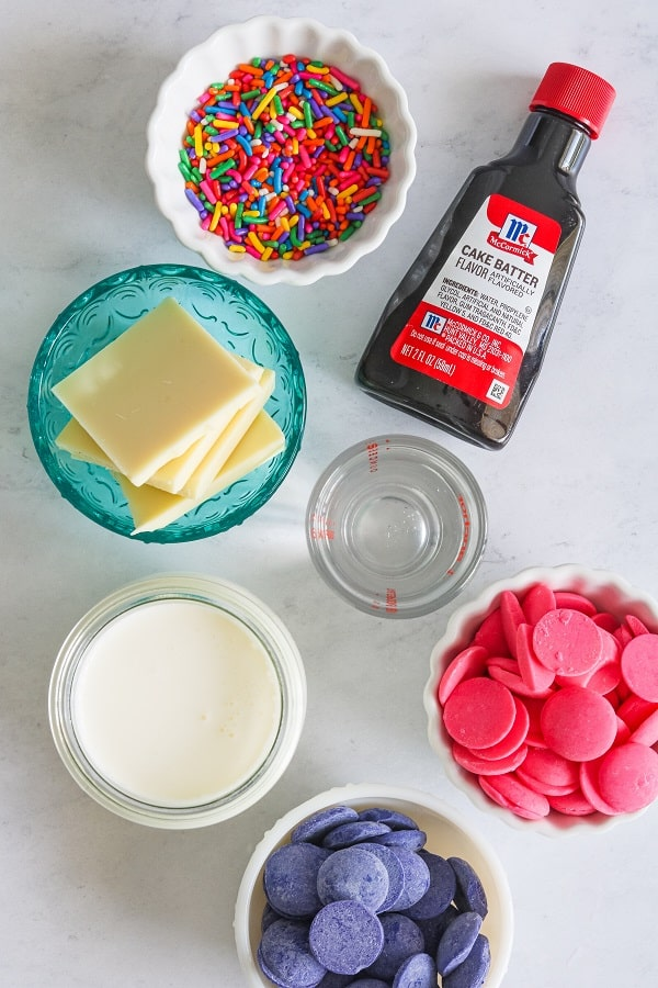 birthday cake martini ingredients