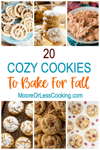 20 Cozy Cookies To Bake For Fall - text