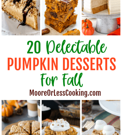 20 Delectable Pumpkin Desserts For Fall