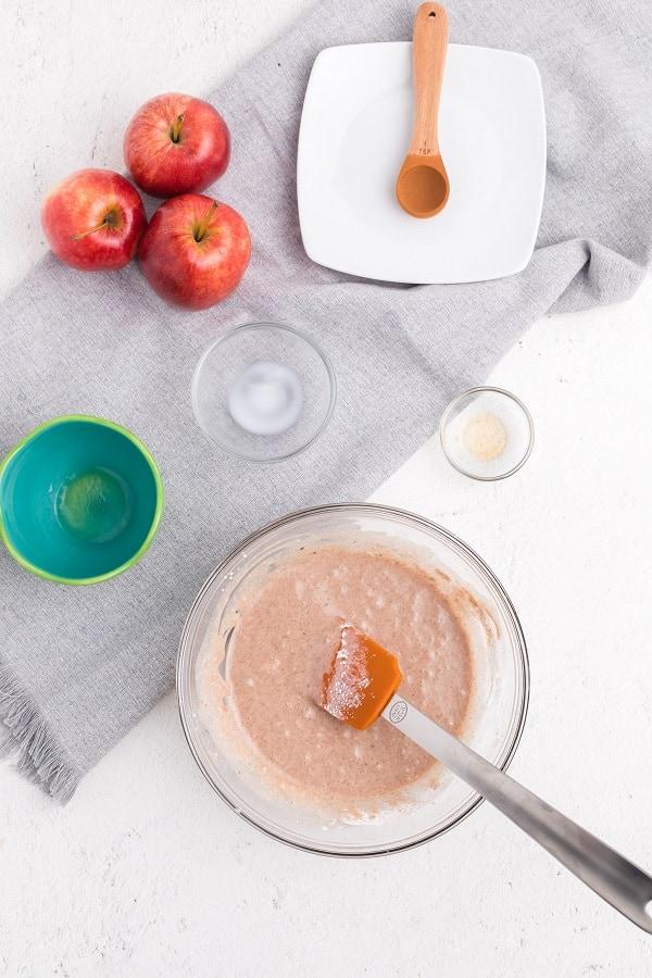 Apple Blondies with CInnamon Sugar Glaze-14