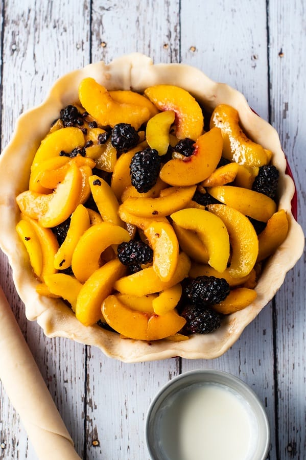 Blackberry Peach Pie4